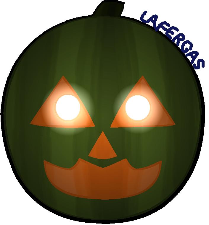 Ms paint clipart pumpkin graphic transparent Nightmare Pumpkin ( FNaF 4 Halloween Edition ) by Lafergas on DeviantArt graphic transparent