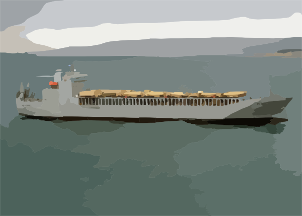 The Military Sealift Command (msc) Roll-on/roll-off Ready Reserve ... clipart royalty free library
