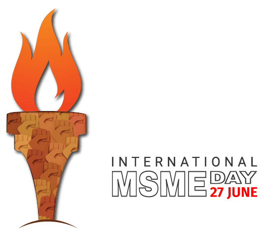 Msme logo clipart banner transparent library Tally Salutes Small and Medium Businesses   International MSME Day 2019 banner transparent library