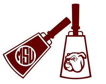 Msu cowbell clipart clipart download Cowbell stencil | *Crafty McCrafterson* | Stencils, Mississippi clipart download