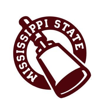 Msu cowbell clipart royalty free New to FransEverythingShop on Etsy: Mississippi State Decal ... royalty free