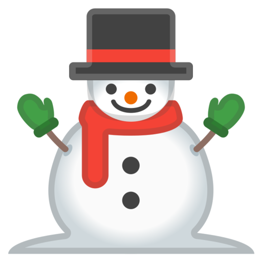 Mu eco de nieve clipart clipart black and white library ⛄ Snowman Without Snow Emoji clipart black and white library