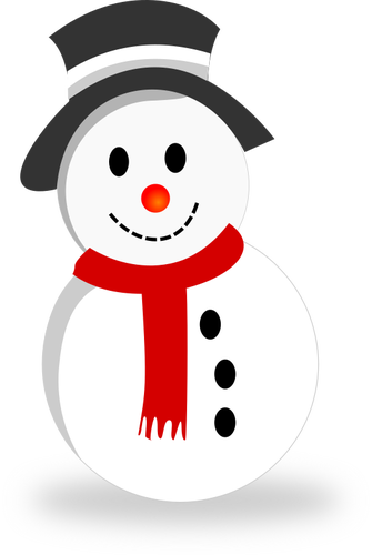 Mu eco de nieve clipart clipart freeuse download Icono del muñeco de nieve | Vectores de dominio público clipart freeuse download