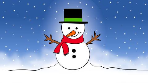 Mu eco de nieve clipart free stock Cómo dibujar un Muñeco de Nieve paso a paso | dibujart.com free stock