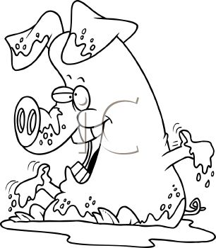 Mud clipart black and white svg freeuse library Playing in the mud clipart black and white » Clipart Station svg freeuse library