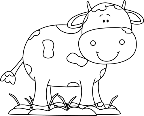 Mud clipart black and white clip art freeuse download Black and White Cow in the Mud Clip Art - Black and White Cow in the ... clip art freeuse download