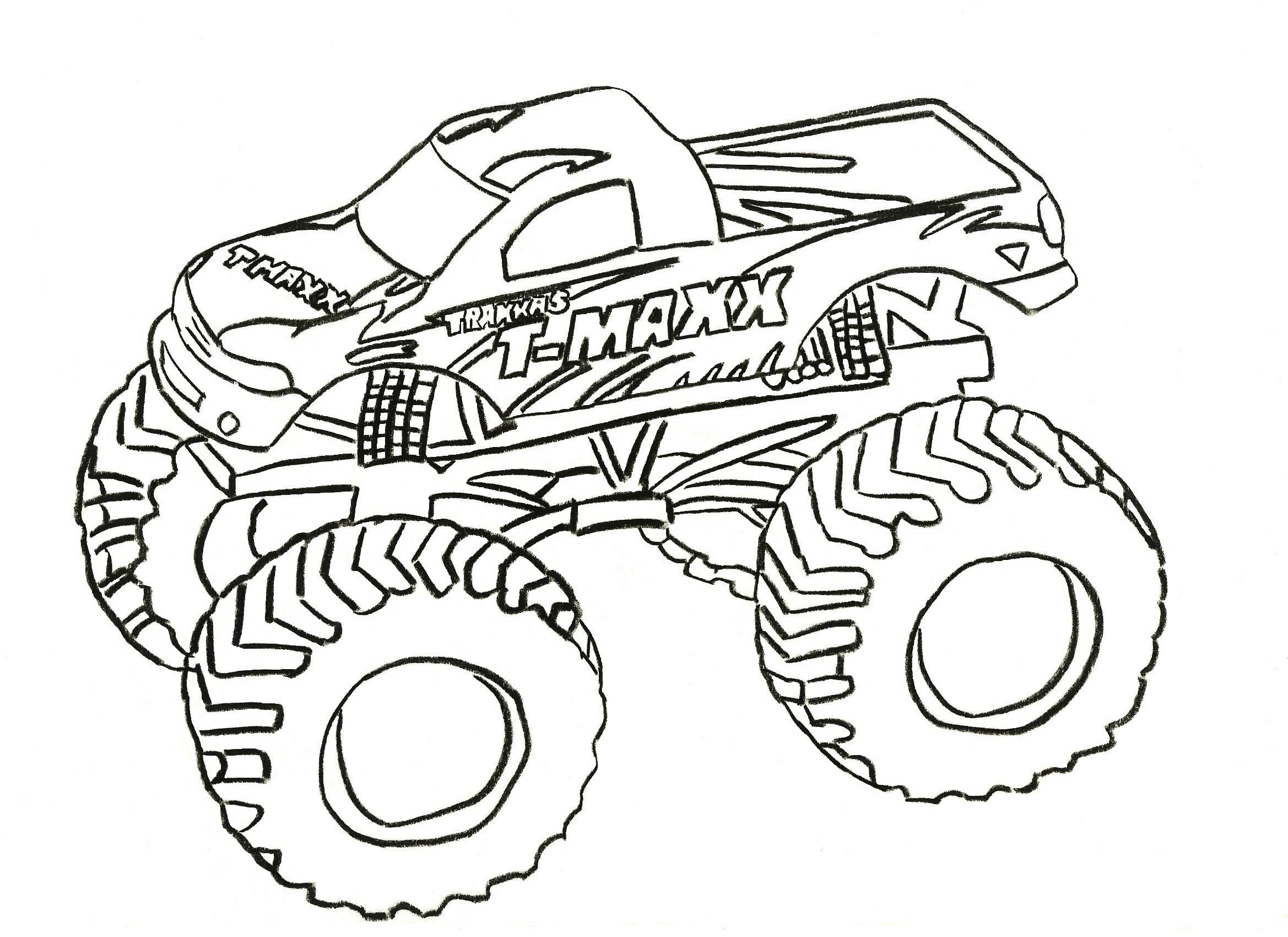 Mud truck coloring pages good chevy clipart clipground graphic royalty free Free Printable Monster Truck Coloring Pages For Kids | kids ... graphic royalty free