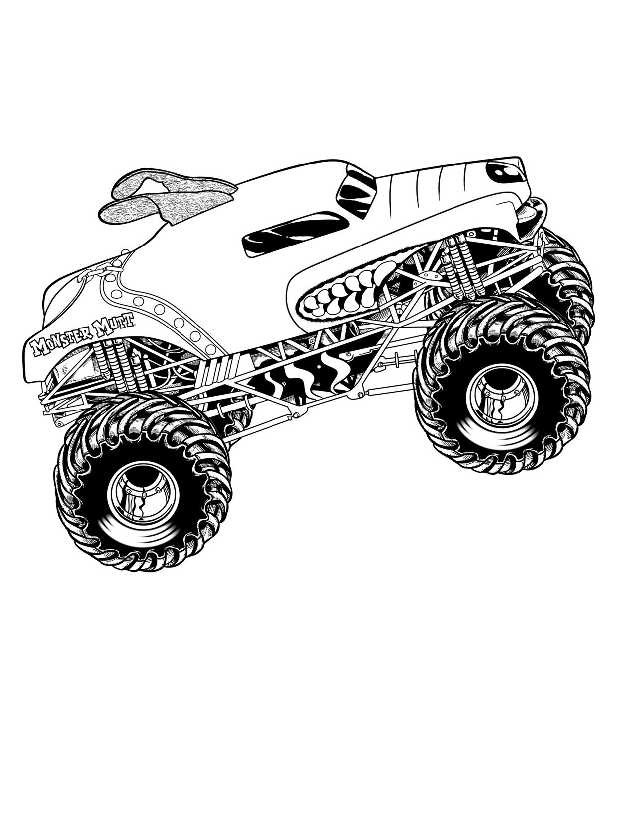 Mud truck coloring pages good chevy clipart clipground free download print out coloring pages | Brady Party Ideas | Monster truck ... free download