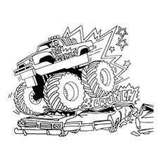 Mud truck coloring pages good chevy clipart clipground jpg transparent stock 10 Wonderful Monster Truck Coloring Pages For Toddlers jpg transparent stock