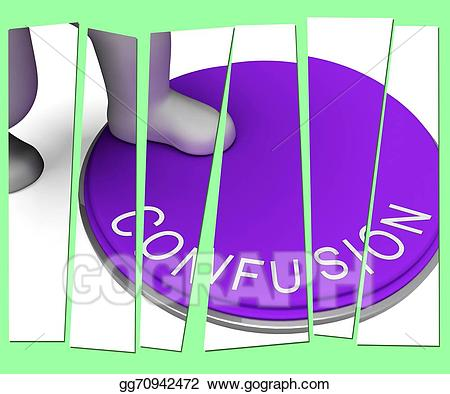 Stock Illustration - Confusion pressed shows muddle unclear ... svg free download