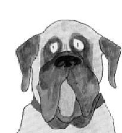 Mudge clipart image black and white download Download Free png Henry And Mudge Clipart 5 205 X 224 Making ... image black and white download