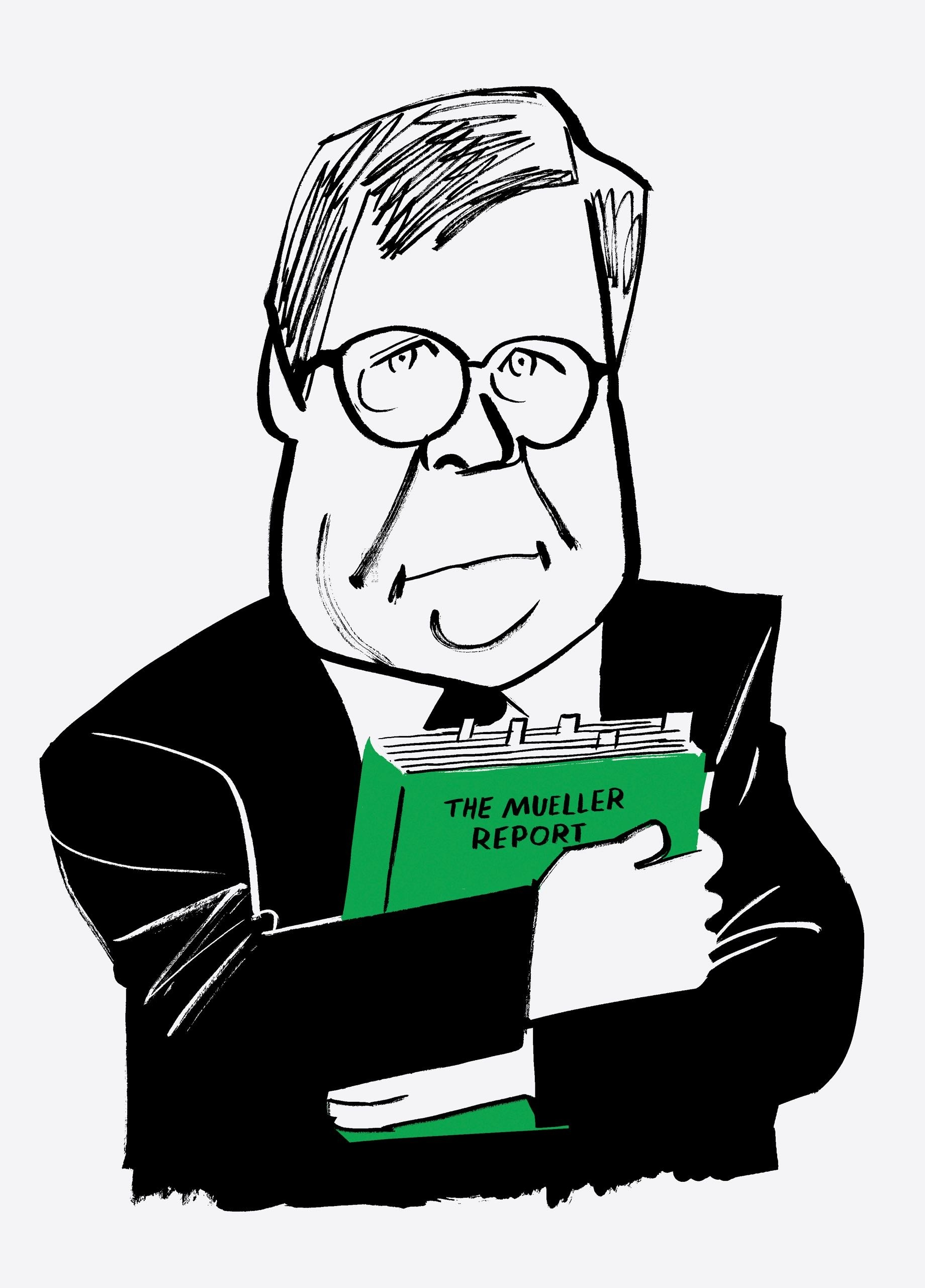 William Barr\'s Choices | The New Yorker picture black and white