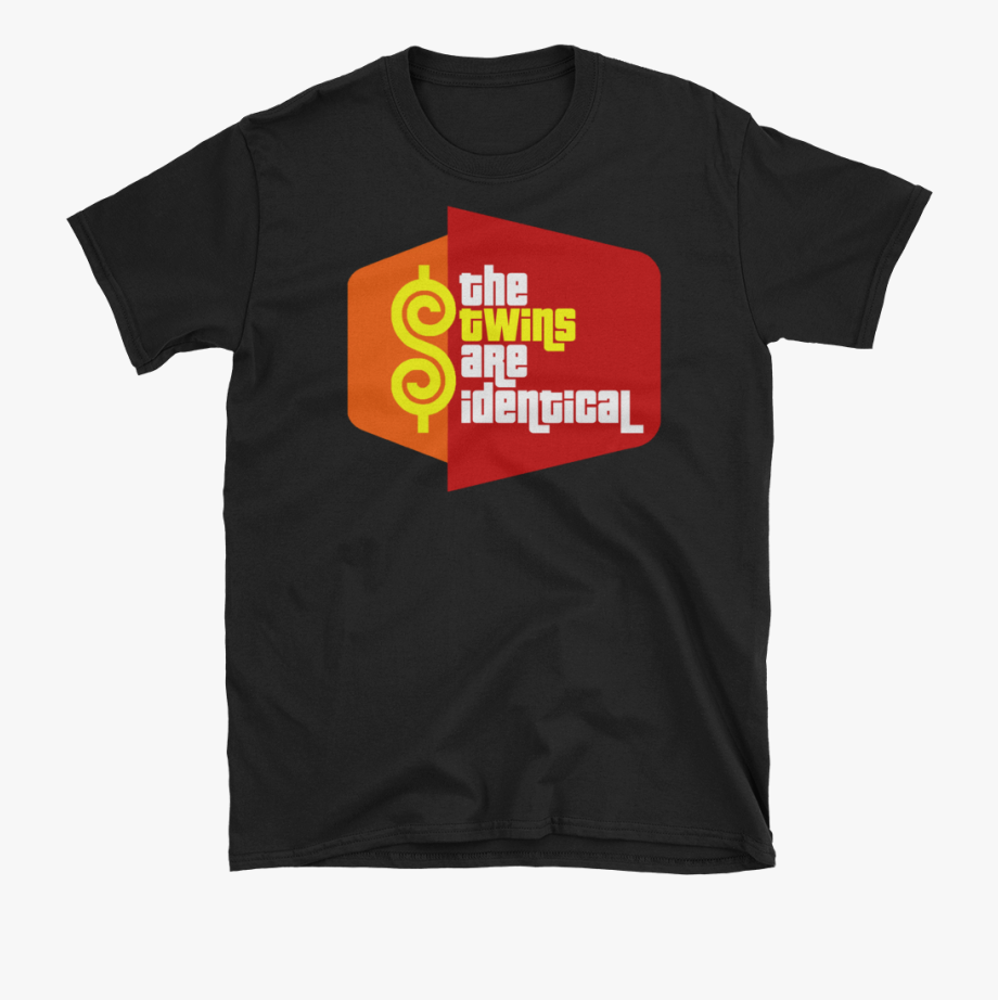 Price Is Right Identical Twins Parody T - Its Mueller Time ... transparent