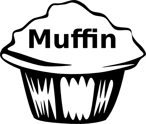 Muffins for mom clipart black and white clip royalty free Free Muffin Pictures, Download Free Clip Art, Free Clip Art on ... clip royalty free