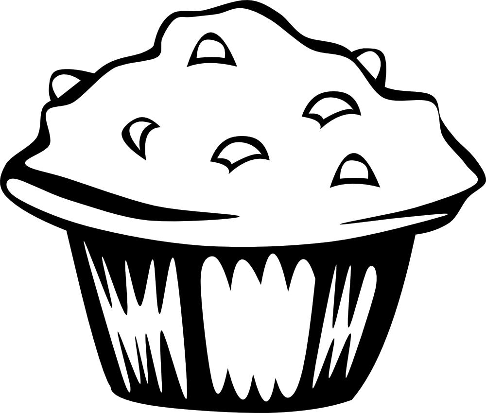 Muffins for mom clipart black and white black and white download Free Muffin Pictures, Download Free Clip Art, Free Clip Art on ... black and white download