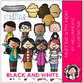 Muffins for mom clipart black and white jpg freeuse stock Muffins For Mom Worksheets & Teaching Resources | TpT jpg freeuse stock