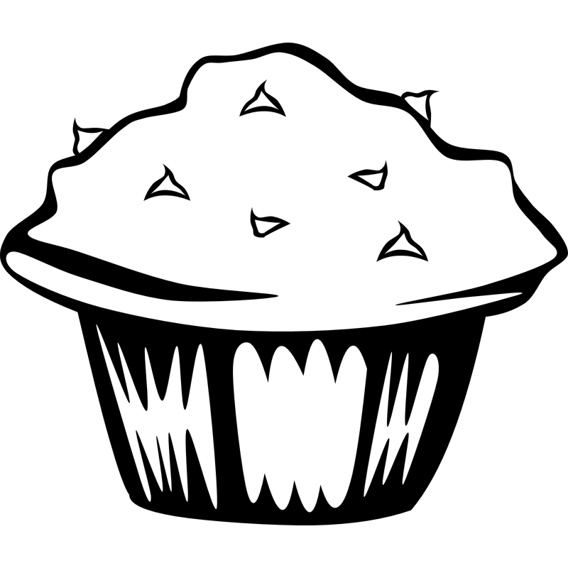 Muffins for mom clipart black and white clip stock Free Muffin Pictures, Download Free Clip Art, Free Clip Art on ... clip stock