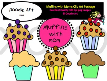 Muffins for mom clipart