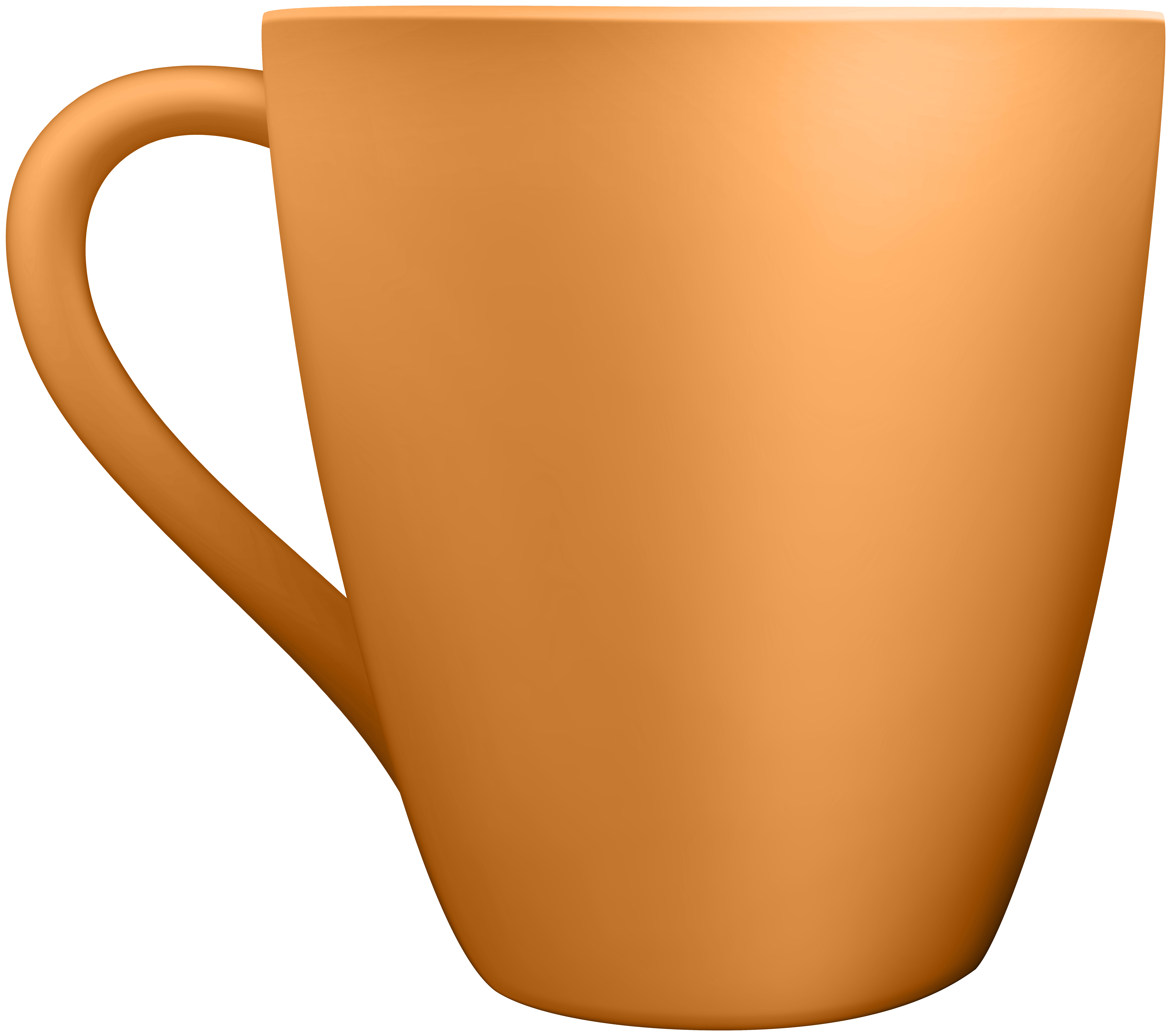 Mug clipart banner Orange Ceramic Mug Clip Art - Best WEB Clipart banner