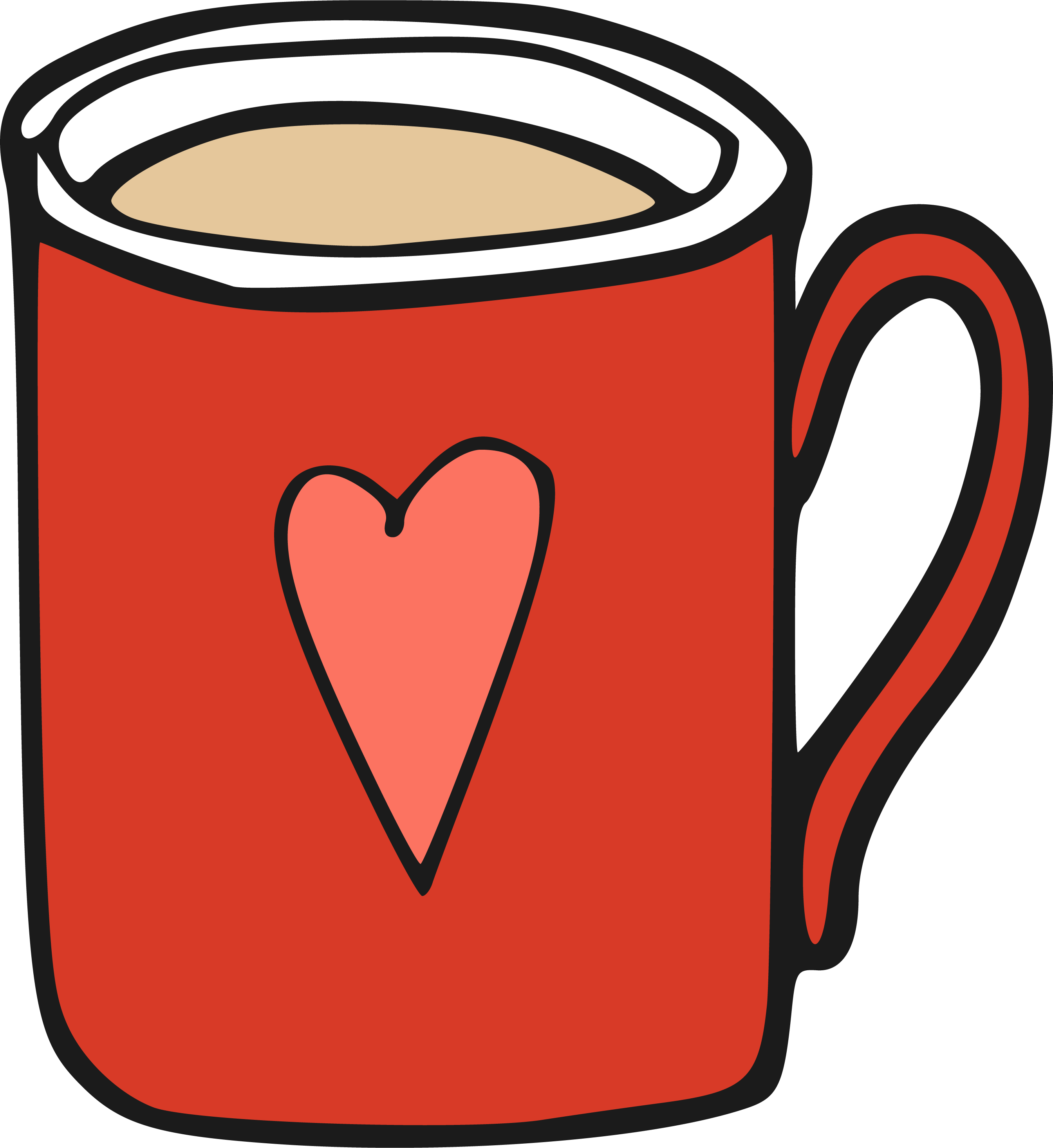 Mug clipart clip art royalty free library Cartoon Coffee Mug Png , Transparent Cartoon - Jing.fm clip art royalty free library