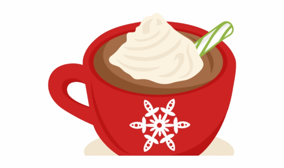 Mug of cocoa with whipped cream clipart black and white picture freeuse library Hot Chocolate Clipart - Christmas Hot Chocolate Clipart {#5057162 ... picture freeuse library