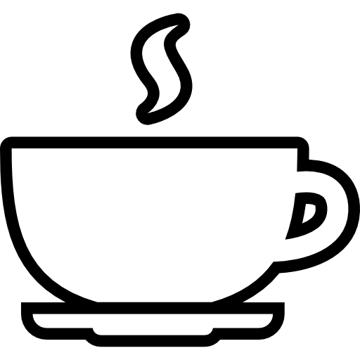 Coffee mug outline clipart images gallery for free download | MyReal ... jpg black and white download