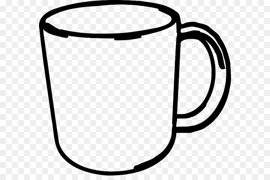 Download outline image of mug clipart Mug Coffee cup Clip art picture transparent download