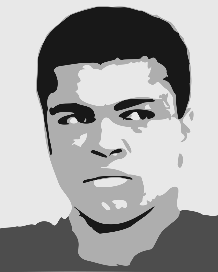 Muhammad ali clipart vector library stock Fight Cartoon clipart - Boxing, Face, Black, transparent ... vector library stock