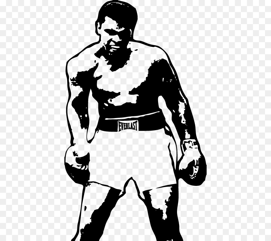 Muhammad ali clipart png transparent library Butterfly Black And White clipart - Sticker, Boxing, Man ... png transparent library