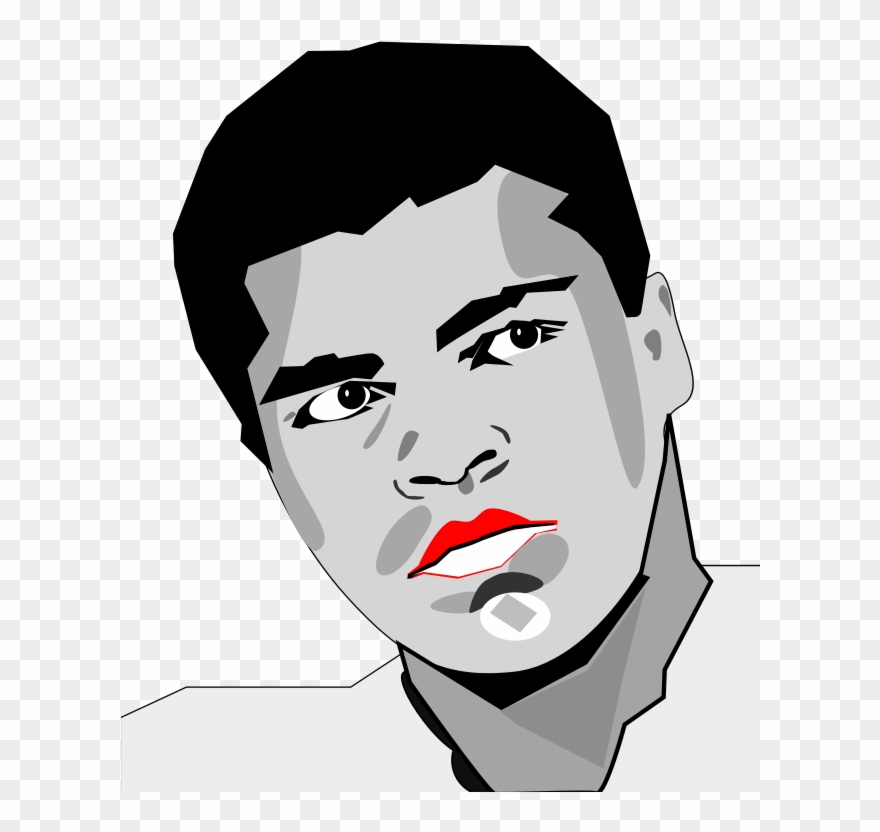Mohammed ali clipart graphic download Clipart Muhammad Ali Clipart - Muhammad Ali Vector Png ... graphic download