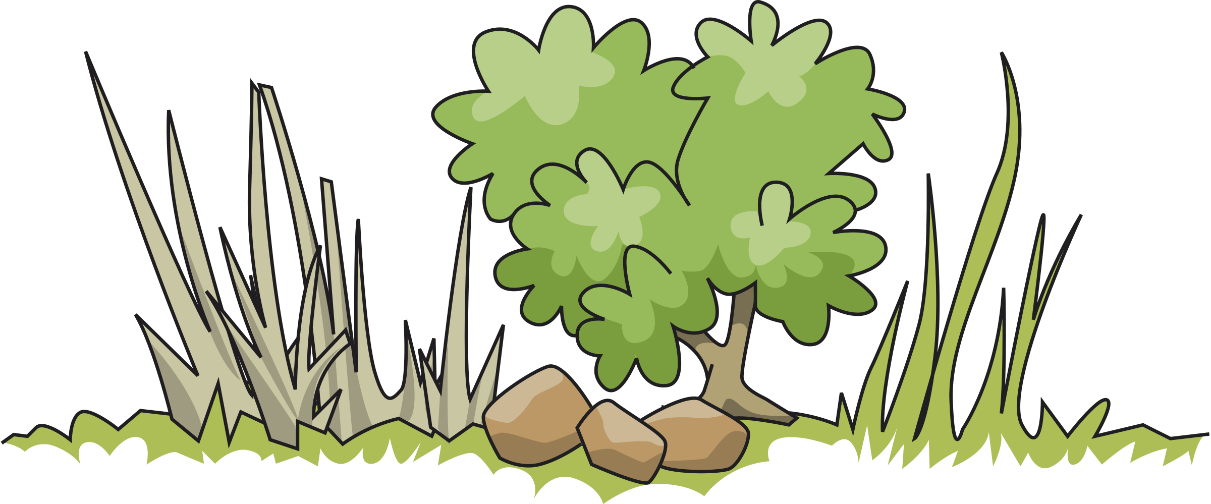 Mulberry tree clipart banner freeuse library Border and bush Icons PNG - Free PNG and Icons Downloads banner freeuse library