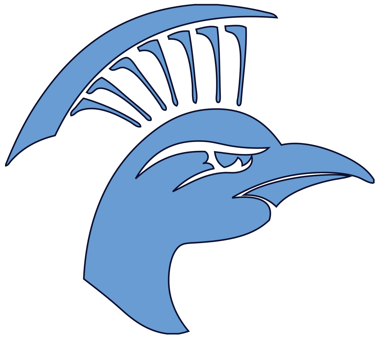 Mule basketball mascot clipart banner freeuse library Upper Iowa Peacocks - Wikipedia banner freeuse library