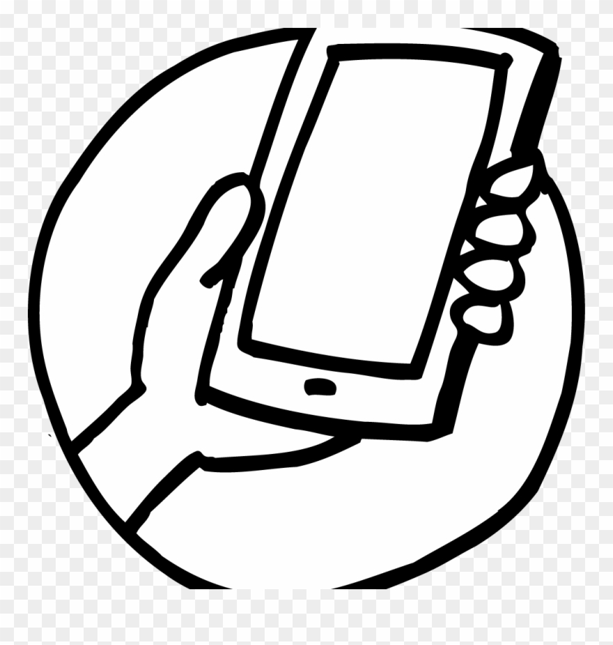 Mule cell phone clipart black and white svg black and white Gdpicture Us Page Phone Drawing Easy Megaphone Earphone - Phone ... svg black and white
