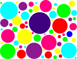 Multi colored clipart svg royalty free stock Multi Colored Polka Dots Clip Art at Clker.com - vector clip ... svg royalty free stock