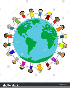 Multicultural clipart free graphic royalty free Free Multicultural Clipart Borders | Free Images at Clker.com ... graphic royalty free