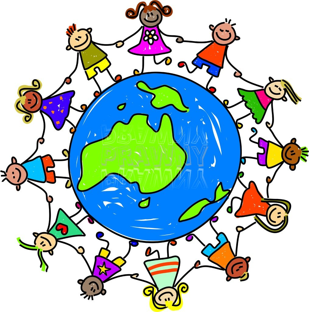 Multicultural clipart from around the world royalty free library Collection of Multicultural clipart   Free download best ... royalty free library