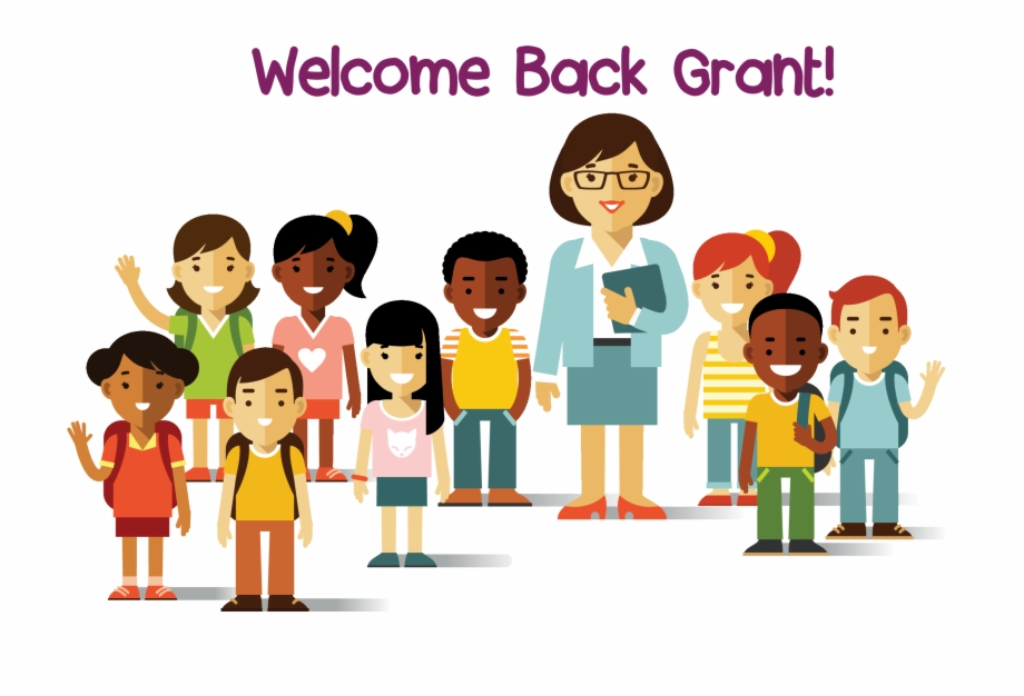 Multicultural kids clipart jpg royalty free download Grant Elementary School Pta Multicultural Kids Clipart - Teacher And ... jpg royalty free download
