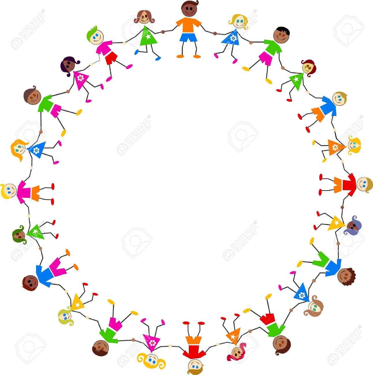 Multiracial hands making a circle clipart free download Holding Hands In A Circle Group with 52+ items free download