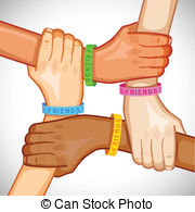 Multiracial hands making a circle clipart image freeuse library Multiracial Clipart and Stock Illustrations. 3,272 ... image freeuse library