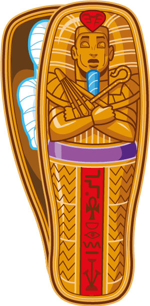 Mumm clipart graphic free library Download Free png egyptian mummy clipart - DLPNG.com graphic free library