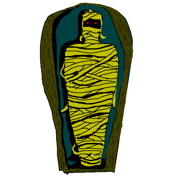 Mummies clipart in coffin vector freeuse Coffin Cliparts - Cliparts Zone vector freeuse