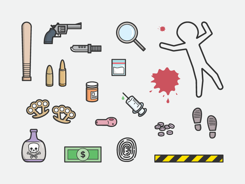 Murderinvestigation clipart png library stock Crime Scene Icon #396079 - Free Icons Library png library stock