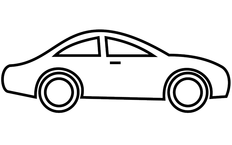 Old car clipart black and white vector transparent download Car Images Black And White | Djiwallpaper.co vector transparent download