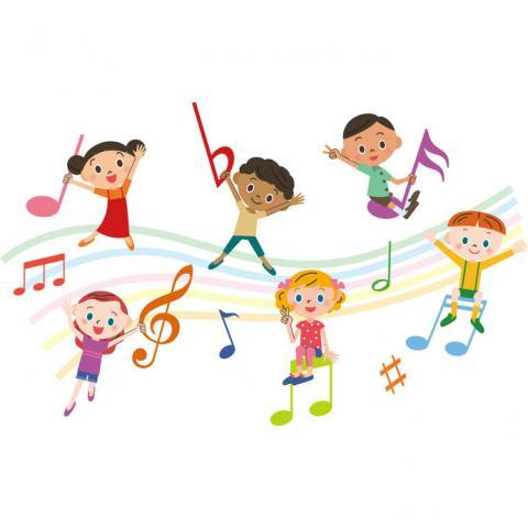 Music and movement clipart clipart black and white stock Music & Movement | Burbank Public Library clipart black and white stock
