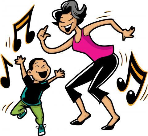 Music and movement clipart jpg stock Music & Movement | Swanton Public Library jpg stock