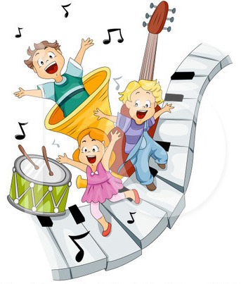 Music and movement clipart banner free download Preschool Music & Movement | Clipart Panda - Free Clipart Images banner free download