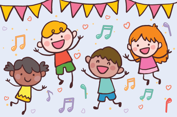 Music and movement clipart svg library Music and Movement – Danbury Library svg library