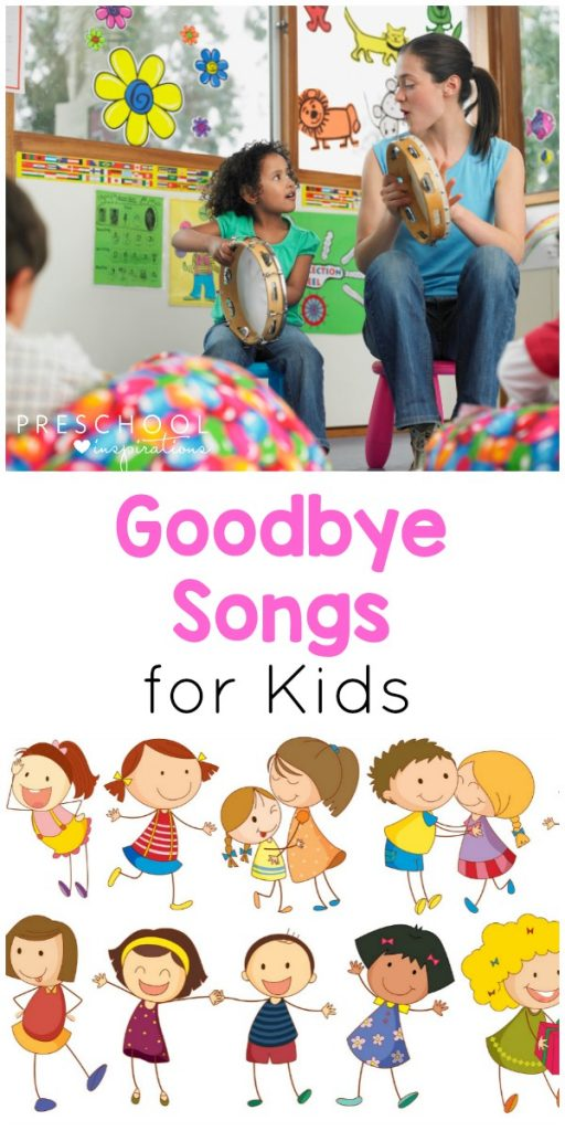 Music and movement preschool daily schedule clipart png library library Preschool Goodbye Songs that Kids and Teachers Love! png library library