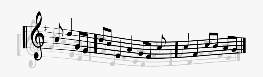 Music banner clipart jpg black and white stock Music Notes Clipart Clear Background - Moving Music Notes ... jpg black and white stock