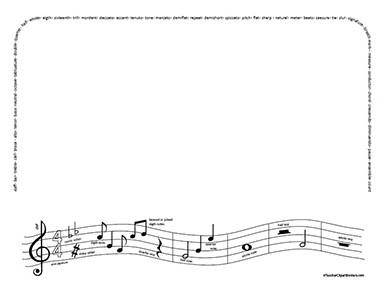 Music borders clip art clip stock Music Note Border - Clipartion.com clip stock
